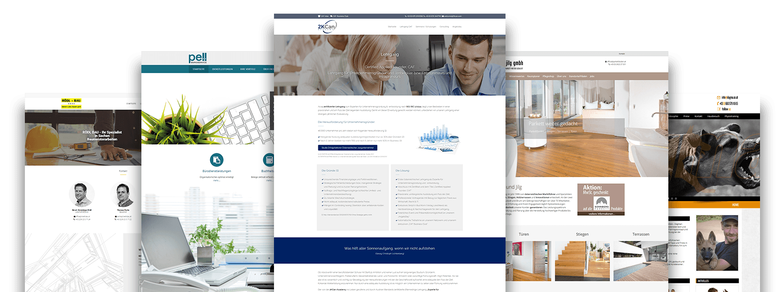 Homepage erstellen Webdesign Wien