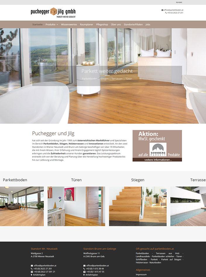 Homepage erstellt Puchegger & Jilg Wr. Neustadt