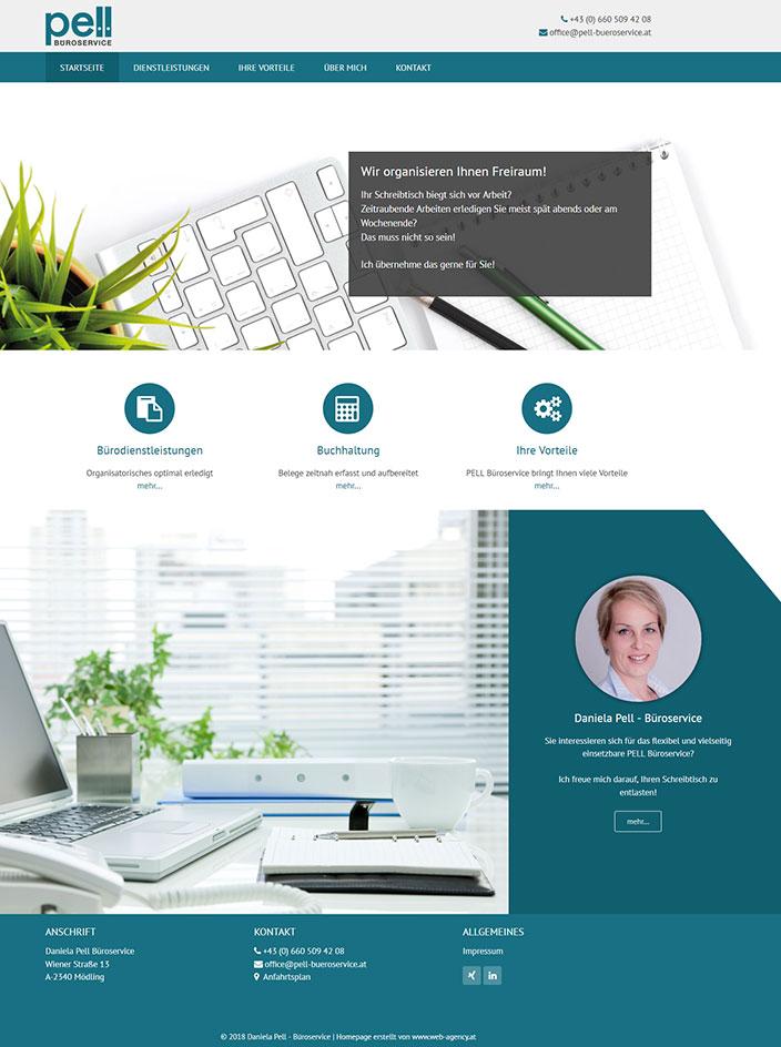 Homepage erstellt Mödling
