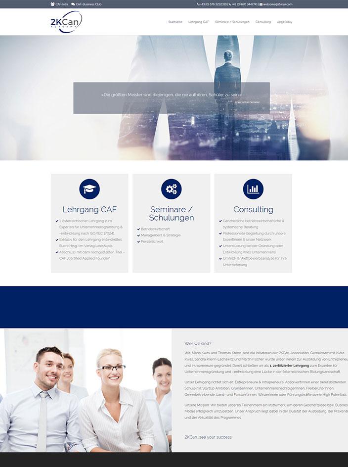 Webseite erstellen Homepage