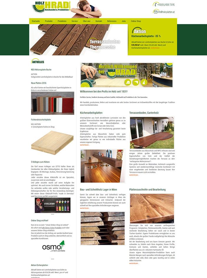 Webseite Homepage erstellen Wien Webdesign