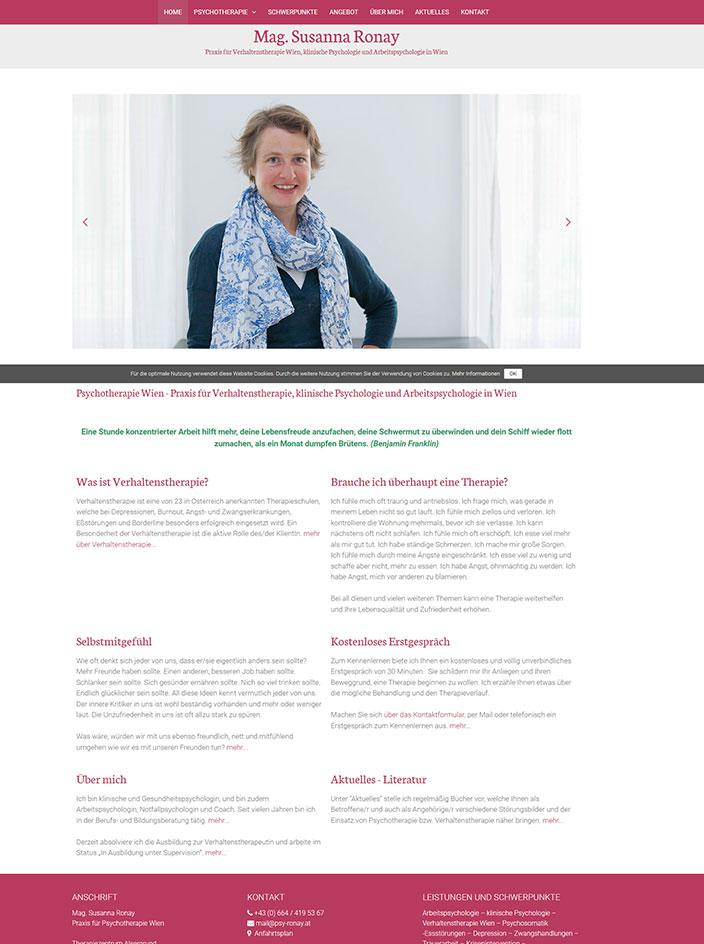 Webseite erstellten Wien Webdesign