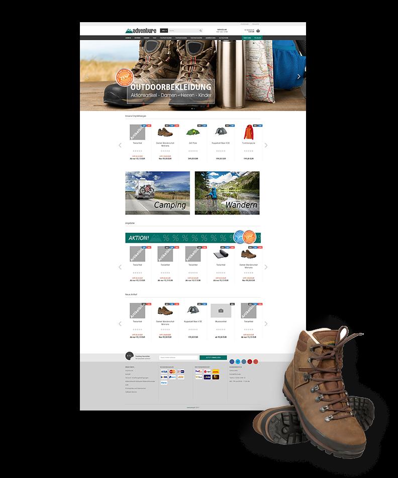 Webshop Onlineshop erstellen lassen Wien